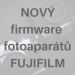 nový firmware pro X100F, X-T20 a X-T1